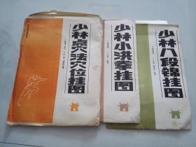 少林八段锦挂图 带外包装封套 货号Y3