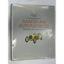 Encyclopedia of American Automobiles 美国汽车【1971年版,介绍美国各种汽车历史,包括老爷车,插图极多】