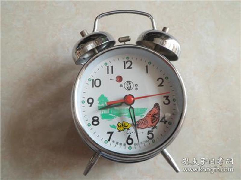 合飞牌鸡吃米闹钟