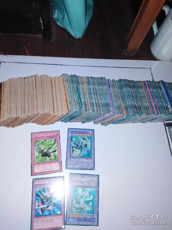 1200多张国产游戏王卡,每张一角