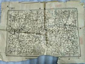 """民国二十二年,参谋本部陆地测量部""""滦县""""地图"""