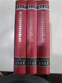 重庆市国家级非物质文化遗产集成·上中下全三册