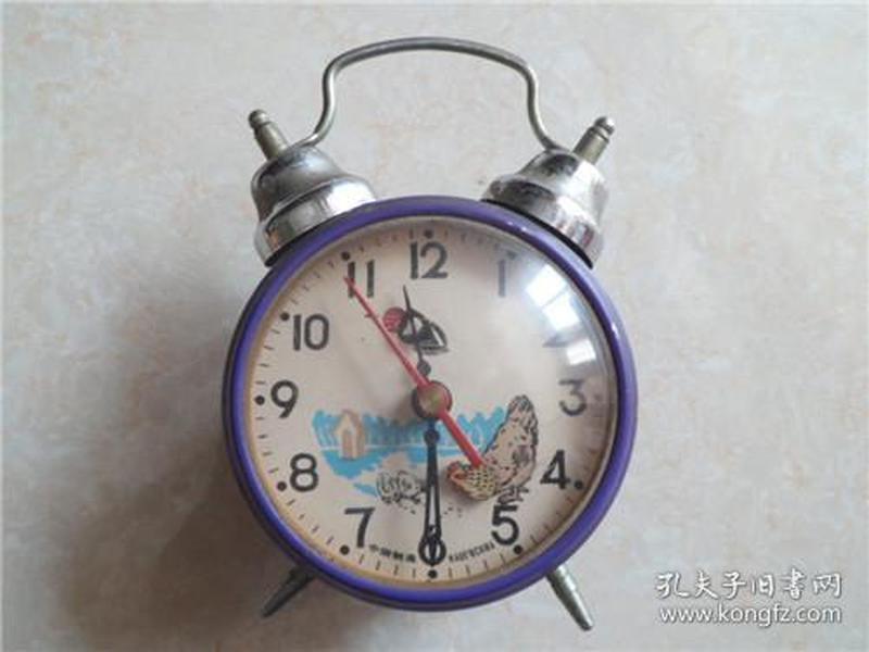 中国制造鸡吃米闹钟