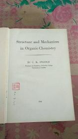 Structure and Mechanism in Organic Chemistry有机化学的结构与历程(英文)精装
