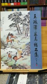 王鸿泽画马精品集   一版一印