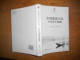 中国微篇小说年度佳作2016