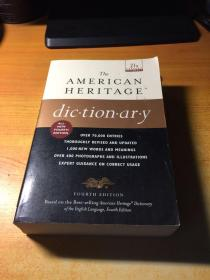 THE AMERICAN HERITAGE dic.tion.ar.y(美国遗产词典.原版英文)
