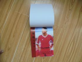 2002中国足球队员笔记本(空白未用)【江津、李