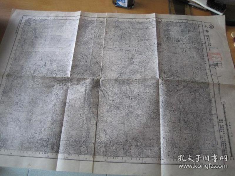 解放战争时期地图-水坝塘