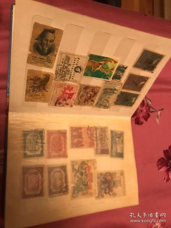 老纪特老邮票册