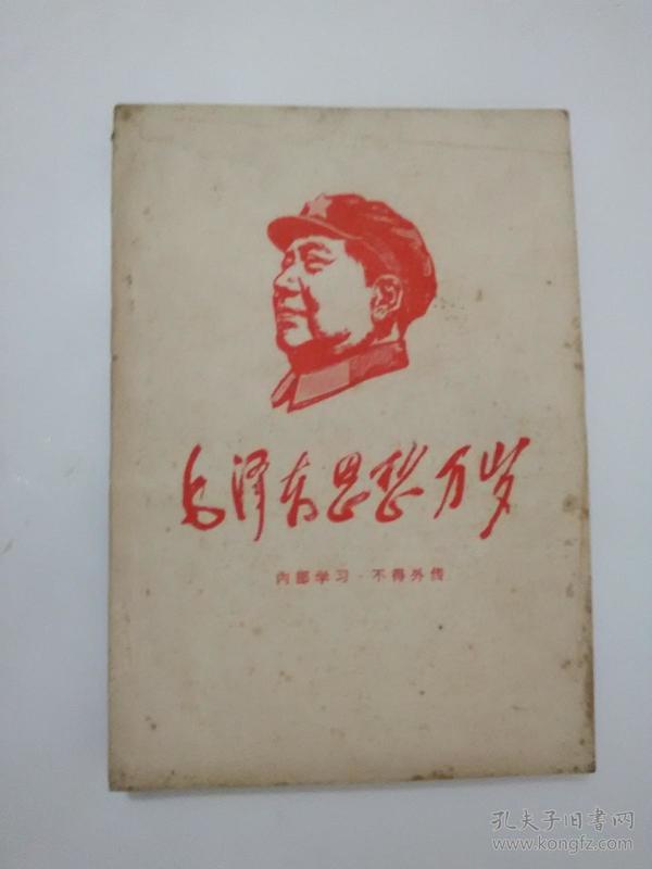 毛泽东思想万岁  1958--1960