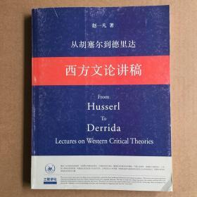 从胡塞尔到德里达:西方文论讲稿