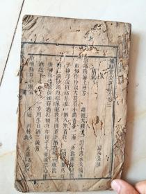 清早期木刻大本,种福堂公选良方卷三。