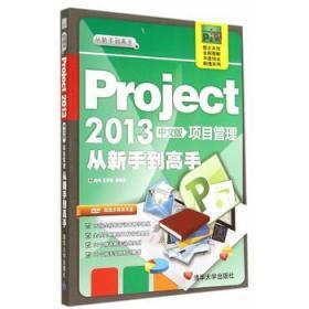 从新手到高手:Project2013中文版项目管理从新手到高手