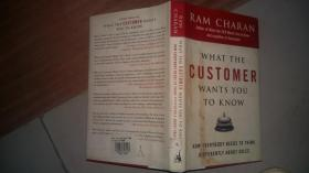 Ram Charan:What the Customer Wants You to Know: How Everybod