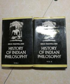【英文】印度哲学史全二册(Erich Frauwallner History of Indian Philosophy)