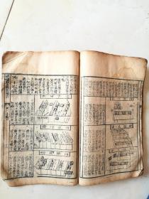增补象吉备要通书卷十七至卷二十一,五卷合订厚本,有看阳宅内容。