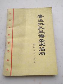 3042、知识青年学习丛书--鲁迅批孔反儒杂文简析,吉林人民出版社1975年1月1版1印.207页,32开,85品。