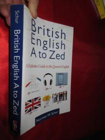 British English from a to Zed   【详见图】
