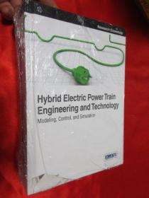 Hybrid electric power train engineering and technology; ...    (硬精装)  【详见图】,全新未开封