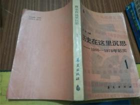 历史在这里沉思1966-1976年记实(第一卷)