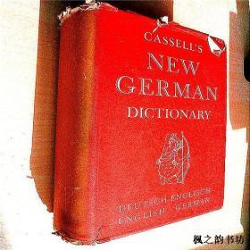 【英文原版】Cassell`s German Dictionary(Deutsch-English,English-German 16开精装厚重本)