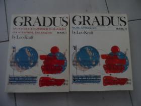 Leo Kraft GRADUS BOOK1.2(16开,原版乐谱)