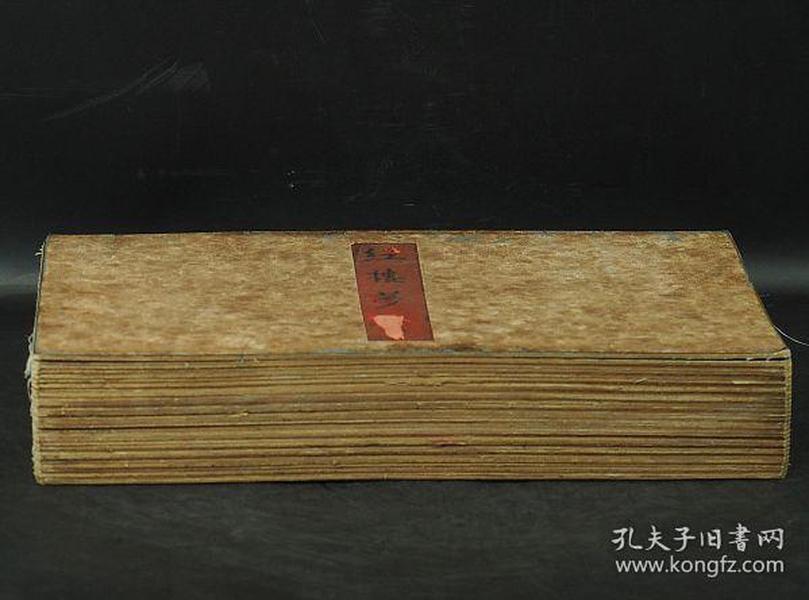 绢本设色 彩絵画册 中国古美术 红楼梦 超大尺寸 28页 清时代 骨董品