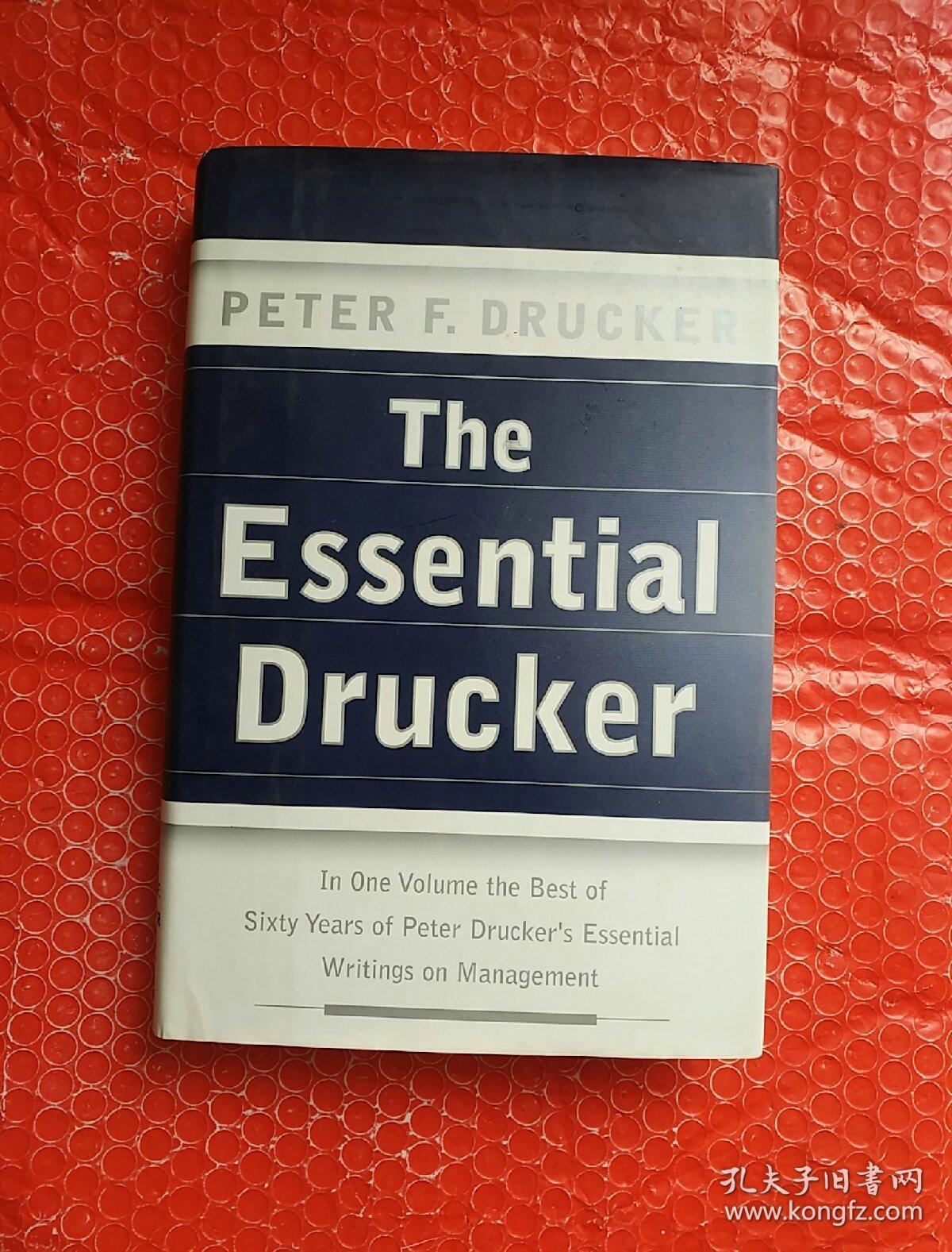 the essential drucker 最基本的德鲁克 英文原版