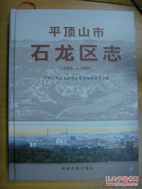 平顶山市石龙区志1991-2000