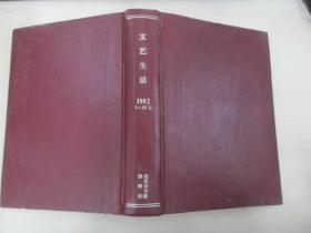 文艺生活 1982年1-12期 湖南人民出版社 16开精装