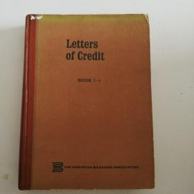 Letters of Credit BOOK1-4(精装)