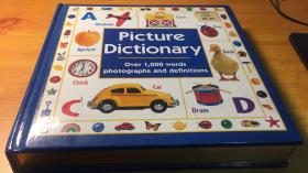 picture Dictionary Over 1000 words photographs and definitions(图片字典1000多字的照片和定义)国外原版