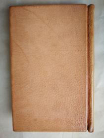 1933年 英文第九版 全皮装《王尔德诗集及里丁监狱之歌》 32开320页
