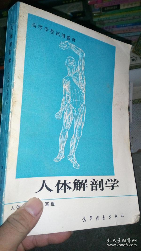 高等学校试用教材-人体解剖学