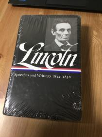 Lincoln: Speeches and Writings 1832-1858 (Library of America) 英文原版