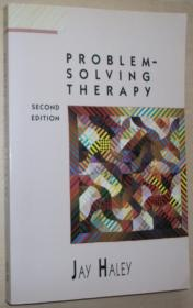 英文原版书 Problem-Solving Therapy, Second Edition / 心理学经典名著 Paperback –1987 by Jay Haley  (Author)