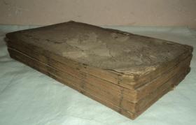 清代精刻本、【孟子】、大开本小版心、原装七卷四册全、刻印精美、值得收藏