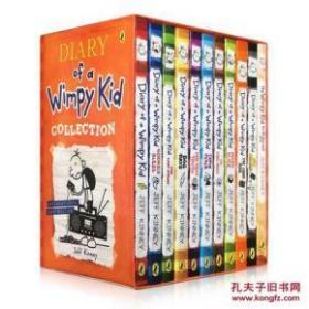 小屁孩日记全套 英文原版 1-11册套装 英文版 英文绘本 漫画Diary of a Wimpy Kid小屁孩 绘本 书 小说 儿童文学
