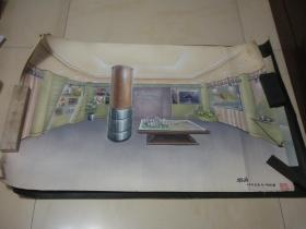 效果图4幅:邢涛、季松作品各2幅(总体是绘画,局部粘贴印刷品,请放大图片仔细看图)