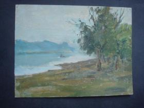 老油画10.....21*16厘米。创作时间不详