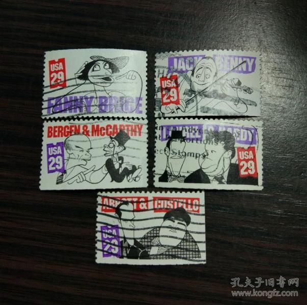 美国信销票 1991年 喜剧演员 杰克本尼 劳莱与哈台