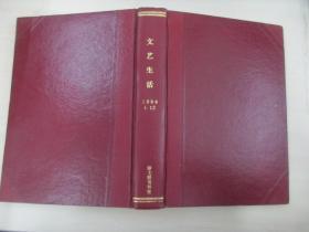 文艺生活 1986年1-8、10-12期 湖南人民出版社 16开精装