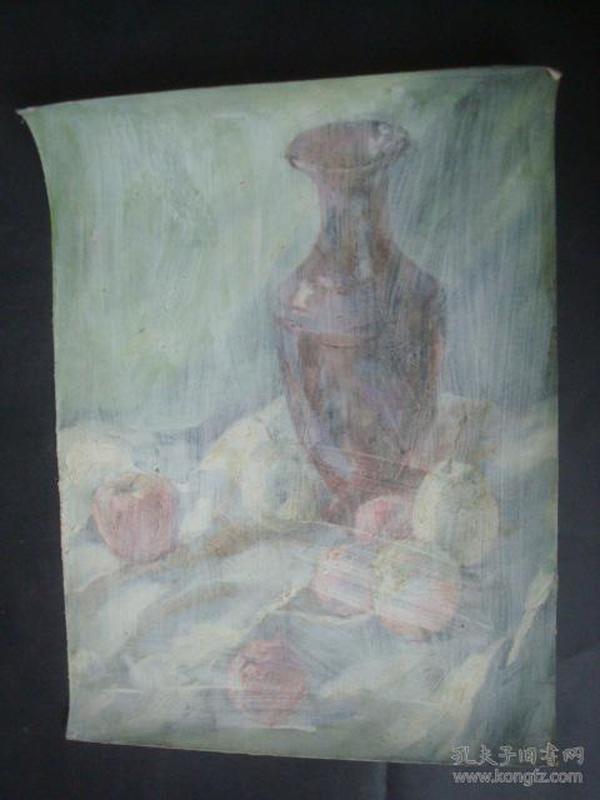 老油画21.....34.5*47.5厘米。创作时间不详.