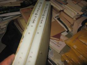 福建积翠园艺术馆藏书画集(一集、二集两册合售,精装品佳  有外封套