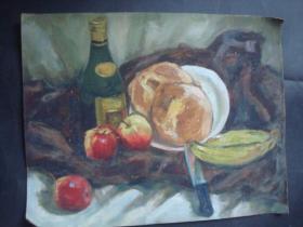 老油画22.....35*45厘米。创作时间不详.