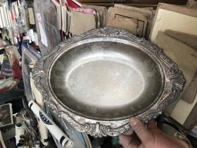 老的盘子,图案精美