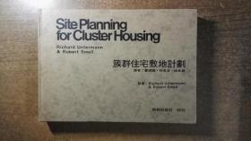 簇群住宅敷地计划(精装大开本厚册,建筑设计名著,绝对低价,绝对好书,私藏品还好,自然旧)