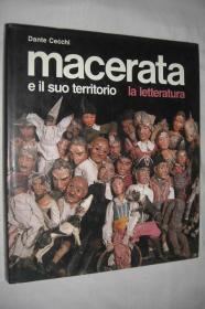 macerata . e il suo territorio . la letteratura(意大利 macerata市的历史、古典建筑与艺术)