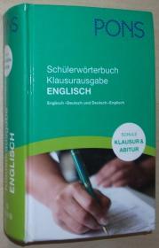 德国原版书 PONS Schülerwörterbuch, Klausurausgabe Englisch für die Schule: Englisch-Deutsch/Deutsch-Englisch  2011 von Anette Dralle (Bearbeitung)